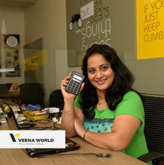 Anuya Parvate uses Mswipe's mobile Point of Sale machine in her travel agency