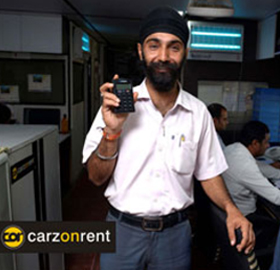 Harshan Singh Bedi accepts card payment outdoor