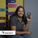 Vedika Patankar uses Mobile Point of sale machine for Tour & Travel agency
